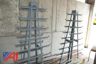(#7) GMI Vertical Metal Storage Racks
