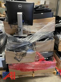3 Pallets of Wyse computer terminals and monitors