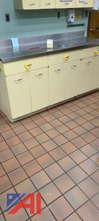 Kitchen Cabinets With Stainless Steel Top