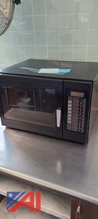 Small Amana Commercial Microwave