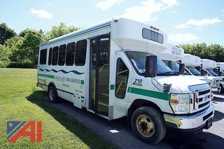 2012 Ford E450 Coach W/C Shuttle Bus/210