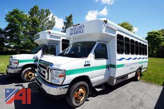 2012 Ford E450 Coach W/C Shuttle Bus/212