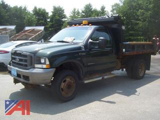 2003 Ford F450 Super Duty Dump Truck