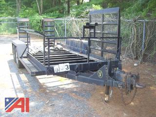 1994 Palm Manufacturing 16' Trailer with Ramps