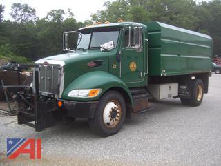 2009 Peterbilt 330 Chipper Dump Truck