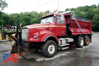 2010 Western Star 4900 SA Dump Truck with Plow, Wing and Spreader