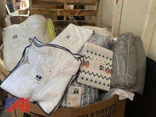 Large lot of New/Old Stock Bedding and More