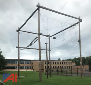(#5) Complete Outdoor Rope Adventure Course