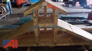 Wood Building Trusses