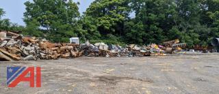 Large Pile of Scrap Metal