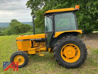 John Deere 2350 Tractor with Cab