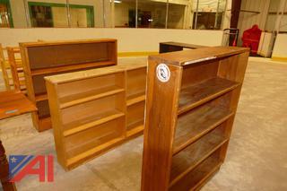 (#5) Various Wooden Bookshelves