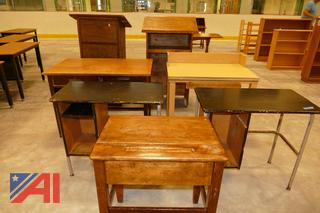 (#8) Wooden Desks and Podiums