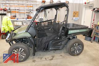 2017 John Deere XUV590i Gator ATV with Dump Body