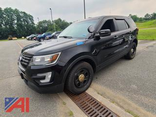(#3) 2016 Ford Explorer SUV/Police Vehicle