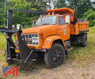 (#11) 1981 GMC/Brigadier J9C042 Dump Truck with Plow and Wing