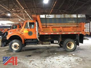 2002 International 4800 Dump Truck with Plow and Sander