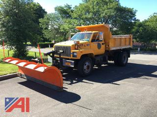 1997 GMC/Chevy C8500 Dump Truck with Plow