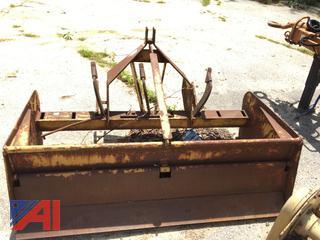1990 Gill Manufacturing Box Blade Scraper