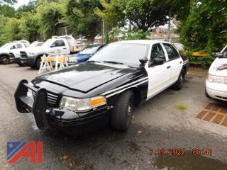 (#5710) 2010 Ford Crown Victoria 4 Door/Police Interceptor