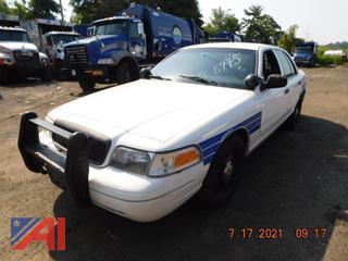 (#5775) 2011 Ford Crown Victoria 4 Door/Police Interceptor