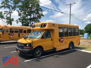 2012 Chevy/Blue Bird Express/Microbird School Bus