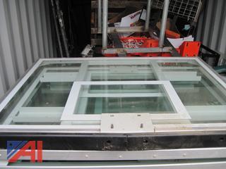 6' x 8' Glass Basketball Backboards