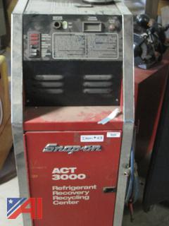 Snap-On Refrigerant Recovery