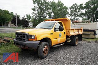 2000 Ford F450 Super Duty Dump Truck/8