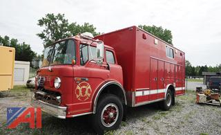 1990 Ford C8000 Heavy Rescue Vehicle/7 (Parts Only)
