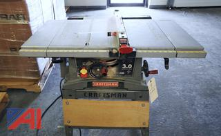 """Craftsman 10"""" Contractor Table Saw"""