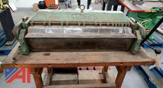 Pexto Bench Top Finger Brake with Stand