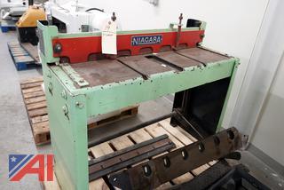 """Niagara Sheet Metal 36"""" Foot Shear"""