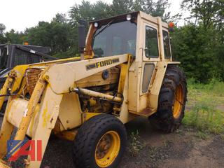 1979 Ford 545A Tractor with Cab and Loader