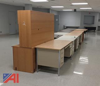 Various Desks & Tables