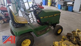 "John Deere LX178 48"" Riding Lawn Mower"