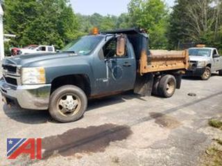 2009 Chevy Silverado 3500HD Dump Truck