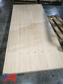 Bowling Alley Wood- Butcher Block