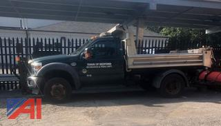 2011 Ford F550 Dump Truck with Plow
