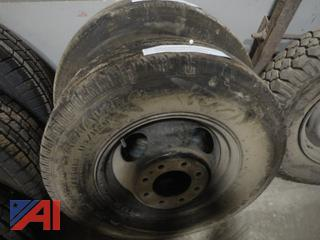 Firestone Steeltex R4S Tires on Rims