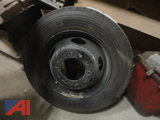 Continental HSR Tire on Rim