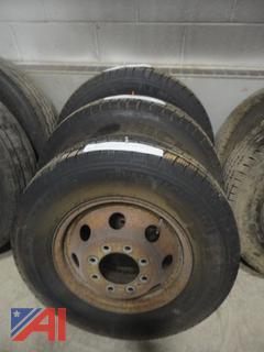 Michelin LTX Tires on Rims