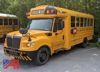 2013 International AE1901 School Bus with Wheel Chair Lift