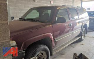 2005 Chevy 2500 Suburban
