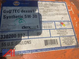 Gulftec Dexos1 5W-30 Synthetic 55 Gal Drum