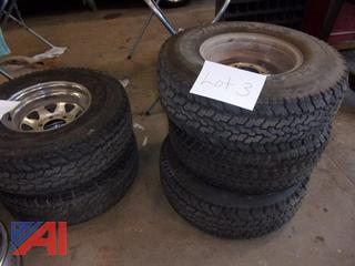Misc. Corvette Tires and Rims