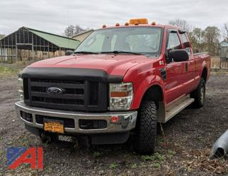 2009 Ford F250 XL Super Duty Extended Cab Pickup Truck