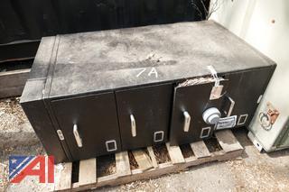 (#7A) 1993 4 Drawer Safe