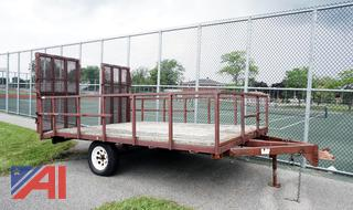 1999 General Welding & Fabrication 12' Equipment Trailer with Ramps