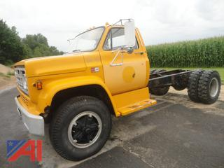1987 GMC C7000 Cab & Chassis